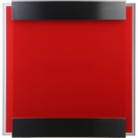 Letterbox Glasnost glass red