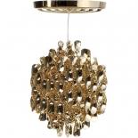 Verner Panton pendant lamp Spiral - gold