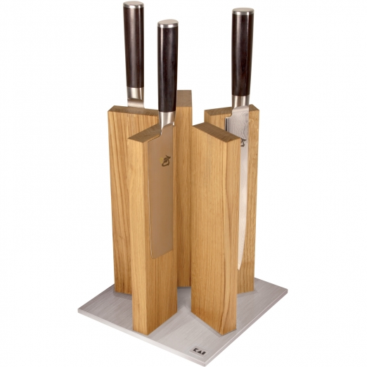 kai magnetic knife block stonehenge red wood. Black Bedroom Furniture Sets. Home Design Ideas