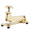 El Casco Desk Stapler, large - 23-K gold-plated