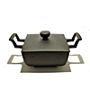 Hoffmann frying pan cast iron - square