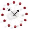 Vitra wall clock Ball - red