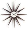 Vitra wall clock Sunburst - walnut