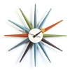 Vitra wall clock Sunburst - multicolored