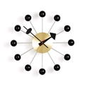Vitra wall clock ball - brass